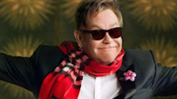 Elton John Fronts Burberry's Star-Studded Holiday