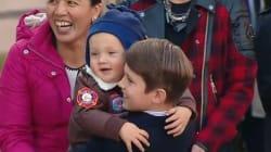 Les enfants de Justin Trudeau lui volent (presque) la