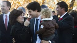 Margaret Trudeau Is Probably Canada's Proudest Mom Right