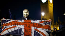 London Police Fear Violence At Million Mask