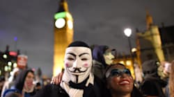 Chaos And Arrests As Million Mask March Descends On