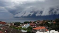 Ce nuage déferlant sur Sydney a ébahi les