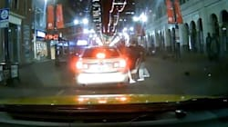 Calgary Cab Driver Captures Possible Kidnapping On