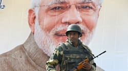 Security Forces Turn Srinagar Into A Fortress Ahead Of PM Modi's