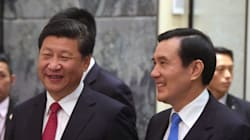 Presidents Of China And Taiwan Exchange Historic