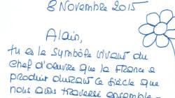 La lettre fleurie de Bardot à Delon, qu'elle