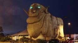 Goulburn's Big Merino Is Now A Terrifying