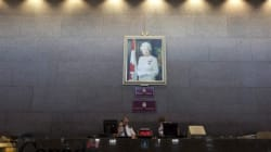 Queen's Portrait In Foreign Affairs Building Pulled