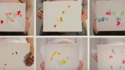 Babies In Womb Create Colourful Artwork Using Their