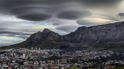 'UFO' Clouds Over South Africa Look Like An Alien