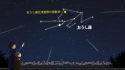 今夜がチャンス おうし座流星群(中川裕美子)
