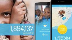 L'app che regala un pasto ai bambini poveri. Basta un click