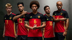 Plusieurs maillots de l'Euro 2016