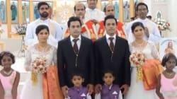 Questo matrimonio è un tripudio di gemelli: spose, sposi, paggetti, damigelle e