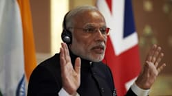 Modi Tells Britain That 'India Does Not Accept Intolerance Even If It Is One Or Two Or Three