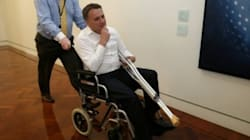 Jamie Briggs Says He Tackled Tony Abbott, But Denies Smashing Marble