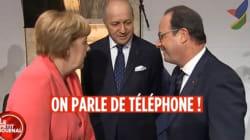 La blague de Hollande à Merkel sur l'espionnage de Fabius par