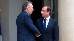 Ce moment de la présidence Hollande où Bayrou s'est dit