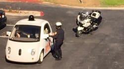 Une voiture autonome arrêtée par la police... pour excès de