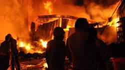 A Firecracker Burnt Down NGO Goonj's Delhi Office This