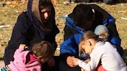 A Canadian Visits Syrian Refugees Waiting At The Serbian