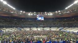 Scènes surréalistes au Stade de France transformé en abri