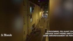 La vidéo effroyable des victimes du Bataclan fuyant par une issue de