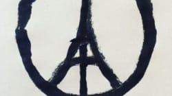 Peace for Paris, l'immagine simbolo dei fatti di