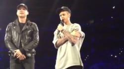 Après les attentats, Justin Bieber prie pour la France, sur