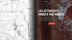 INFOGRAPHIE - Le déroulé minute par minute des attentats selon le
