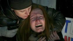 Il volto di Polina per la perdita del suo amato Nick vale più di mille