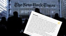 Le commentaire d'un lecteur du New York Times qui a fait
