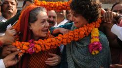 LS Speaker Mahajan's Grand Daughter Made A Wish And Sonia Gandhi