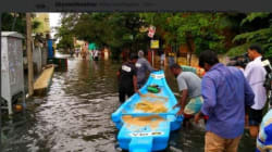 Ola Floats Charity Boats In Flooded