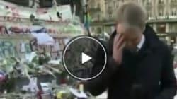 Il giornalista della BBC in lacrime a Parigi: