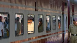RPF Constable Pushes Man Off Running Train In West
