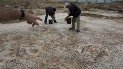 Mosaico romano del IV secolo scoperto nella città di