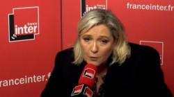 Confrontée à ses contre-vérités, Marine Le Pen se