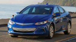 La Chevrolet Volt 2016 couronnée voiture verte de l'année