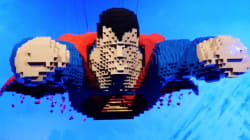 Is It A Bird? Is It A Plane? No, It's A LEGO Superman (Because