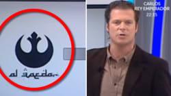 Il confond le logo d'Al-Qaida avec celui des rebelles de Star
