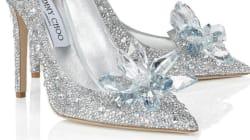 Les précieuses chaussures de vair de Cendrillon signées Jimmy