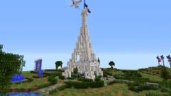 Les joueurs de Minecraft aussi ont rendu hommage à la