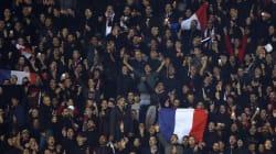 Les supporters de Nice scandent