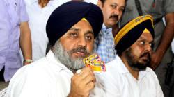Sukhbir Singh Badal Accuses Congress Of Encouraging
