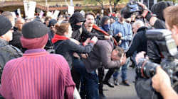 Police Arrest Protesters, Use Pepper Spray at Racism