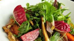 Lynn Crawford's Roasted Vegetable, Raisin And Walnut Salad