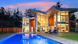 Glass Mansion In B.C. Will Stretch New Owner's Windex