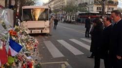 Hollande et Cameron au Bataclan pour un