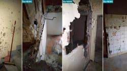 Ce qu'il reste de l'appartement de Saint-Denis après l'assaut du